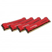 Memorie Kingston HyperX Savage Red 32GB DDR3 1600 MHz CL9 Quad Channel Kit