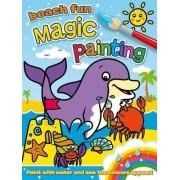 Magic Painting: Beach Fun by Angela Hewitt