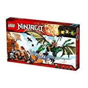 LEGO 70593 Ninjago The Green NRG Dragon Building Set - Multi-Coloured