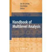 Handbook of Multilevel Analysis by H. Goldstein