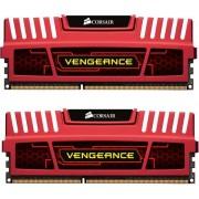 CORSAIR-Mémoire PC Vengeance 2 x 4 Go DDR3-1600 - PC3-12800 - CL9 (CMZ8GX3M2A1600C9R)-