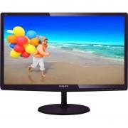 Monitor LED Philips 227E6LDSD/00 21.5 inch 1ms Black DVI-D/D-Sub/HDMI