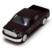 Dodge Ram 1500 Pickup Truck Black - Jada Toys Just Trucks 97015 - 1-32 scale Diecast Model Toy Car