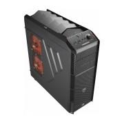 Gabinete Aerocool XPredator X1 Black Edition, Midi-Tower, ATX/micro-ATX, USB 3.0, sin Fuente, Negro
