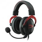 Casti Gaming HyperX Cloud II Red