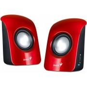 Boxe SP-U115, 2.0, 1.5W RMS, Negru/Rosu