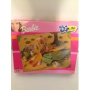 Barbie 24 Piece Puzzle And Animal Friends
