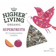 Ceai organic din super fructe Higher Living
