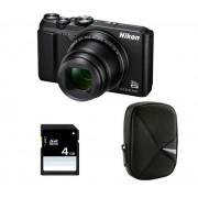 Coolpix A900 - noir + Etui + Carte SD 4 Go