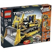 Lego Technic Motorized Bulldozer