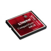 Kingston Digital 64GB Ultimate CompactFlash 266x with Recovery Card (CF/64GB-U2)