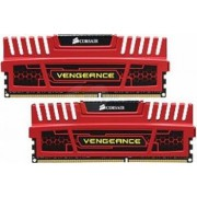 Memorie Corsair Vengeance 8GB Kit 2x4GB DDR3 1600MHz CL9 RED