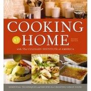 Cooking at Home with the Culinary Institute of America by Houghton Mifflin Harcourt
