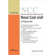 Noul Cod civil si 9 legi uzuale act. 4 ianuarie 2016