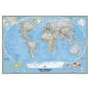 Wereldkaart 82PH Politiek, 110 x 77 cm | National Geographic