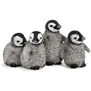 Schleich Emperor Penguin Chicks Toy Figure