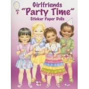 Girlfriends Party Time Sticker Paper Dolls by Joanne Mary Cannon