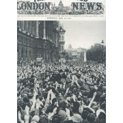 The Illustrated London News - N°5535 - Vol. 206 /- May 19 1945 / Churchill Acclamed .. / Famous Buildings Floodlit On Victory Night / Ve-Day Celebrations Etc...