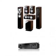 Home cinema Magnat Quantum 675+673+C67+sub6725A + Denon AVR-X1200 BF2016