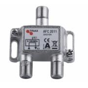 Triax AFC 2011 1-es leágazó F csatlakozo 20,0 dB
