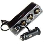 USB rozbočovač do auta pre 12/24V cigaretovej prípojky