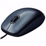 Mouse Logitech Optical M100 Dark