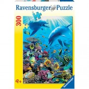 Ravensburger puzzle aventura subacvatica, 300 piese
