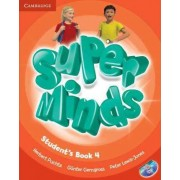 Super Minds Level 4 Student's Book with DVD-ROM by Herbert Puchta