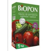 BIOPON do pomidorów, ogórków i warzyw karton 1 kg
