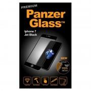 Folie protectie PanzerGlass sticla securizata PREMIUM iPhone 7 Jet Plus Black / Black