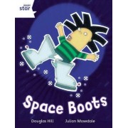 Rigby Star Independent White Reader 4: Space Boots by Douglas Hill