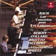 Michel - Collard, Jean Philippe Beroff - Les Concertos Pour 3 Et 4 Pianos (0077774706322) (1 CD)