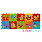 BabyOno szivacspuzzle szőnyeg állatok 10 db