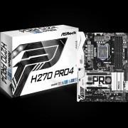 MB, ASRock H270 PRO4 /Intel H270/ DDR4/ LGA1151