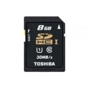Toshiba High Speed Professional - Carte mémoire flash - 8 Go - UHS Class 1 / Class10 - SDHC UHS-I