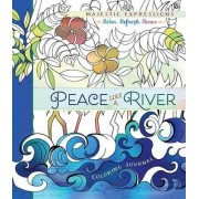 Adult Coloring Journal: Peace Like a River by Broadstreet Publishing