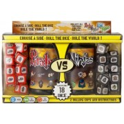Pirates Vs Ninjas - Juego de dados, 2 jugadores (Wiggles Three D WIG91801) [Importado de Inglaterra]