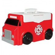 Toytainer Fire Trunk Play N' Store