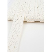 Csipke szalag fehér 2cm-s/Cikksz:150110