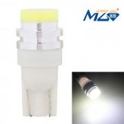 MZ T10 5W luz blanca 6500K 300lm COB LED Lampara para coche