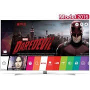 "Televizor Super UHD LG 139 cm (55"") 55UH950V, Ultra HD 4K, Smart TV, 3D, HDR, webOS 3.0, WiFi, CI+ + Lantisor placat cu aur si argint + Cartela SIM Orange PrePay, 6 euro credit, 4 GB internet 4G, 2,000 minute nationale si internationale fix sau SMS nation"