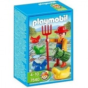 Playmobil 7540 Farmer and Farm Game by PLAYMOBIL'