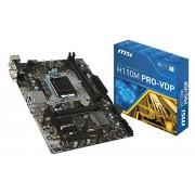 MSI H110M PRO-VDP Intel H110 LGA1151 Micro ATX scheda madre