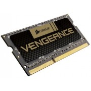 Corsair CMSX8GX3M1A1600C10 Vengeance High Performance Memoria per Notebook da 8 GB (1x8 GB), DDR3, 1600 MHz, CL10, SODIMM, 1.5 V, Nero