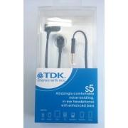 TDK S5 слушалки Черни