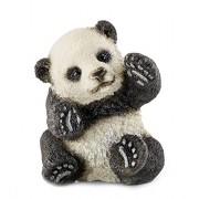 Schleich - 14734 - Figurine Animal - Bébé Panda - Jouant