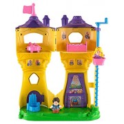 Fisher-Price Little People Disney Princess Rapunzel's Flynn Figure Musical Tower by Fisher-Price