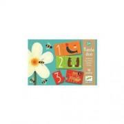 Djeco Puzzle duo - Łączenie liczb z ilościami przedmiotów