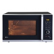 LG 32 L Convection Microwave Oven (MC3283AG, Black Checker)
