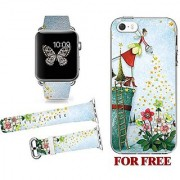hot sale watches gift gift for mother Countdown Sale! v.point decal sale apple watch 38mm Bands strap +HARD IPHONE 5S/